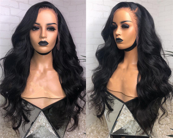 Unprocessed Virgin Indian Lace Front Wigs130% Density Indian Body Wave Lace Wigs Top Quality Full Lace Human Hair Wigs