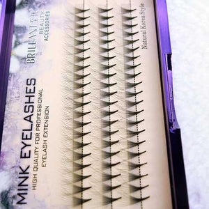 10D Black 8/9/10/12mm Eyelash Individual Eyelashes Extension