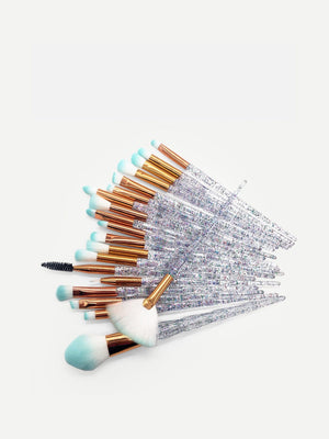 CONFETTI Handle Makeup Brush 20pcs