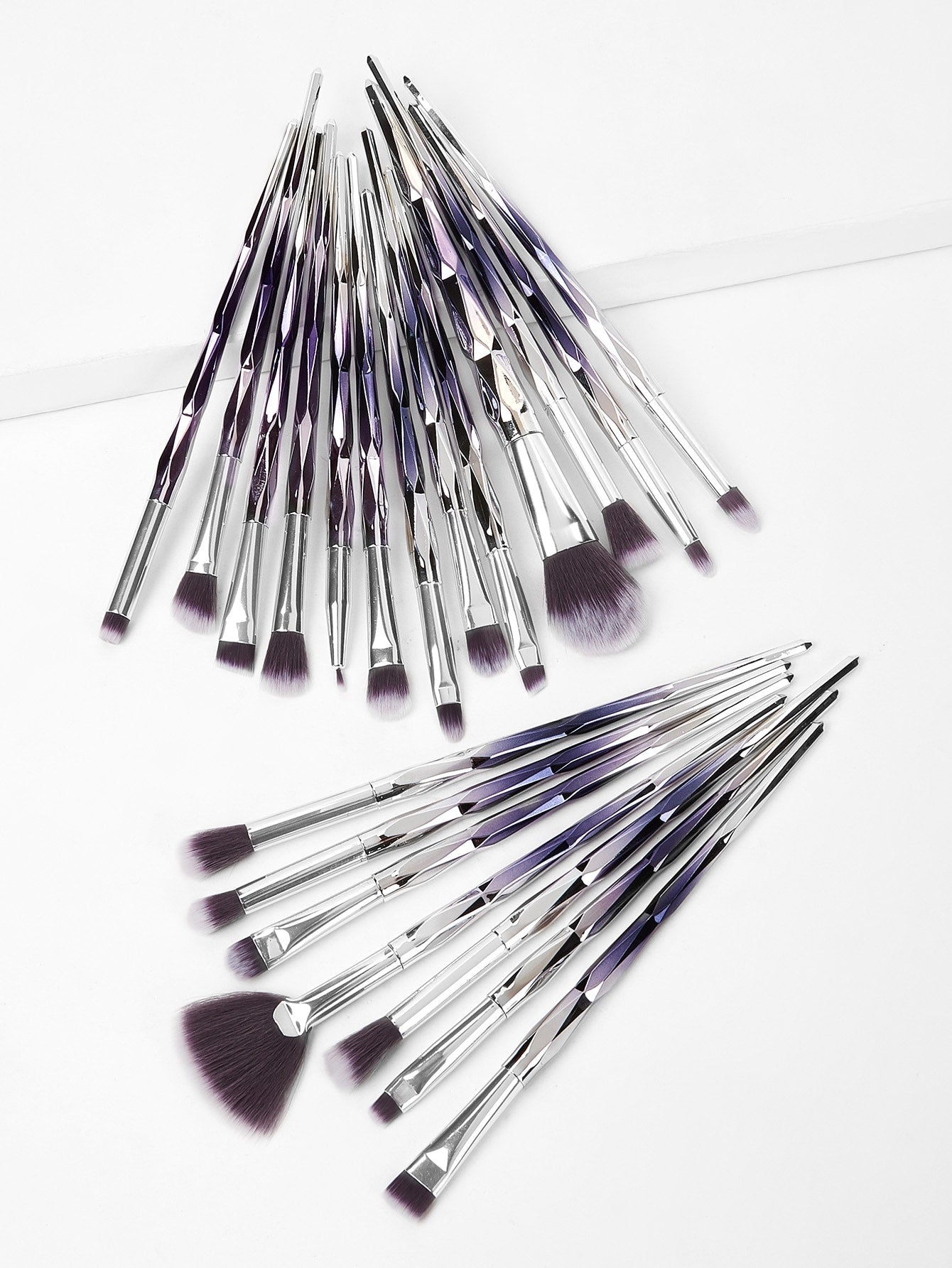 CHROME Makeup Brush Set 20pcs