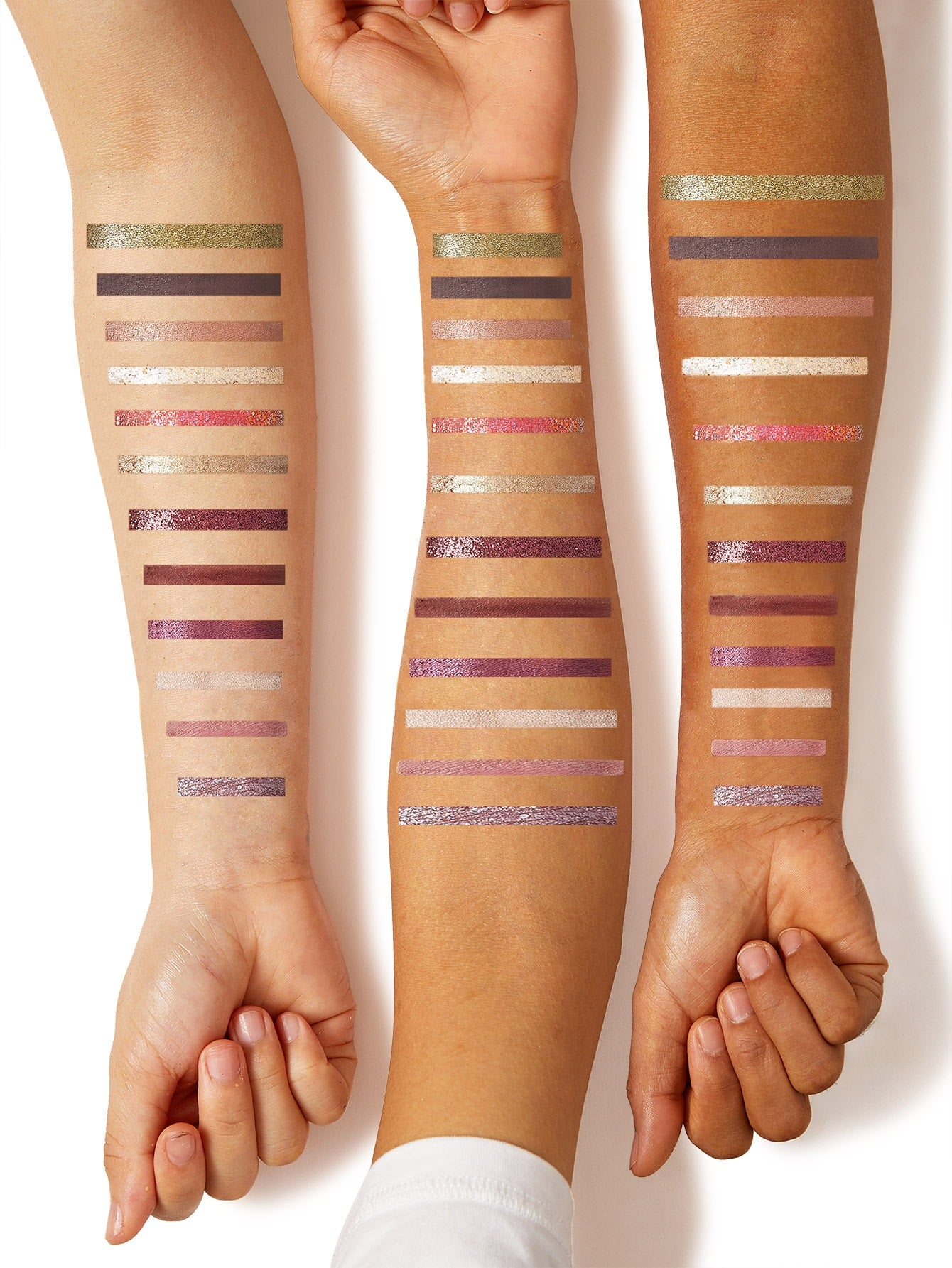 """Might Be"" Little Black Tube Long-wearing 12 Color Eyeshadow Palette by SHEIN"