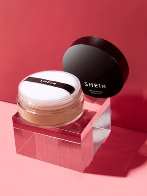 SHEIN Little Black Tube Lasting Setting Powder Natural