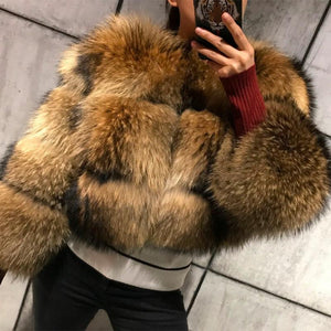 LaVelache 2020 New Genuine Fur Coat Parka