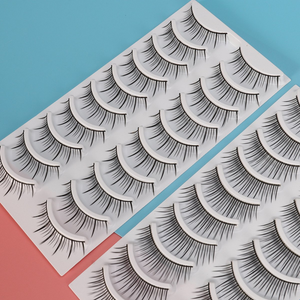 80 Pairs of Natural Eyelashes