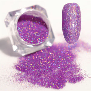 BORN PRETTY Galaxy Holographic Nail POWDER