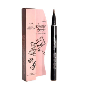 1Pc Waterproof Brown Eye Brow Eyebrow Tattoo Pen Liner Makeup Long Lasting Eyebrow Liner Women Gifts High Quality Beauty
