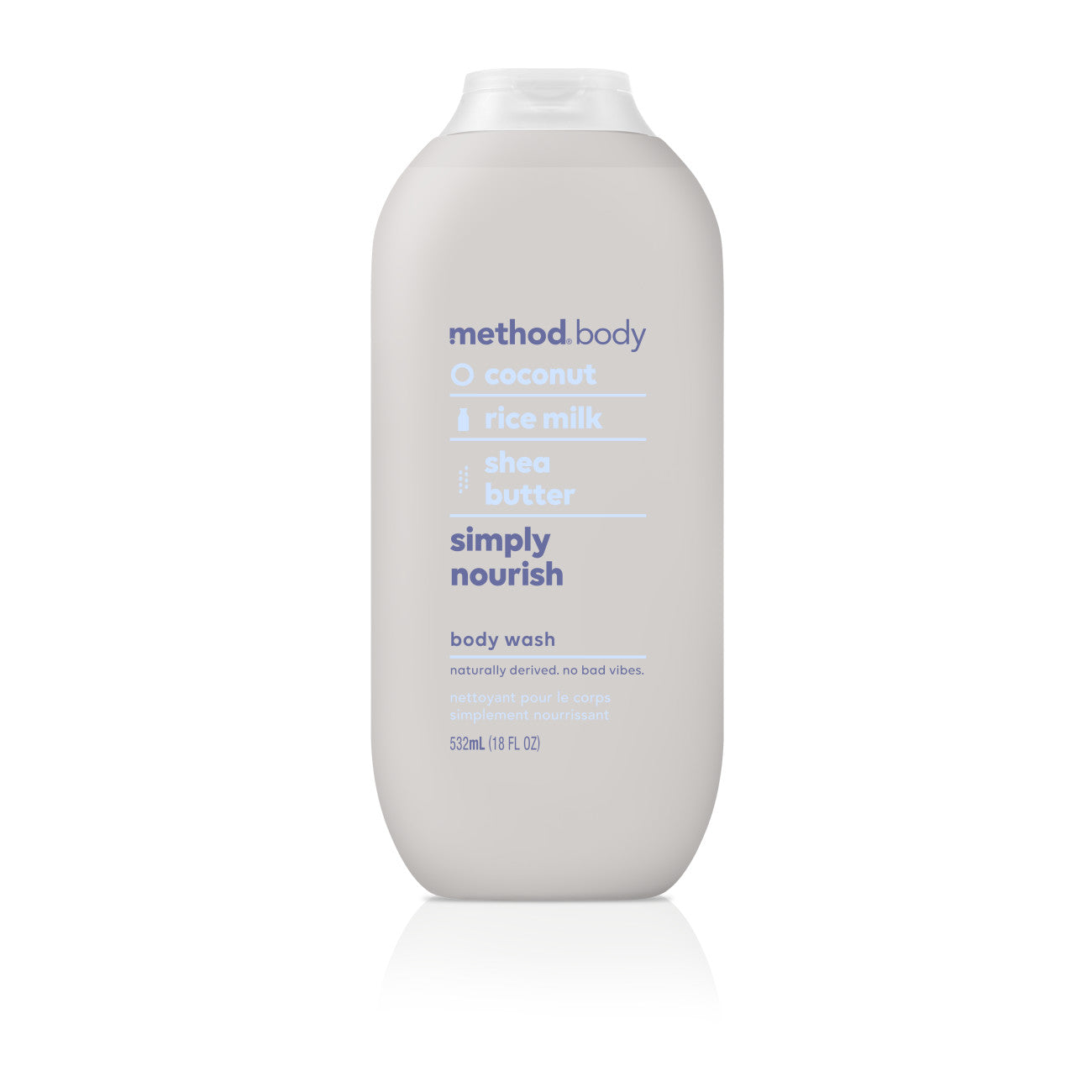 (2 pack) Method Body Wash, Simply Nourish, 18 Ounce