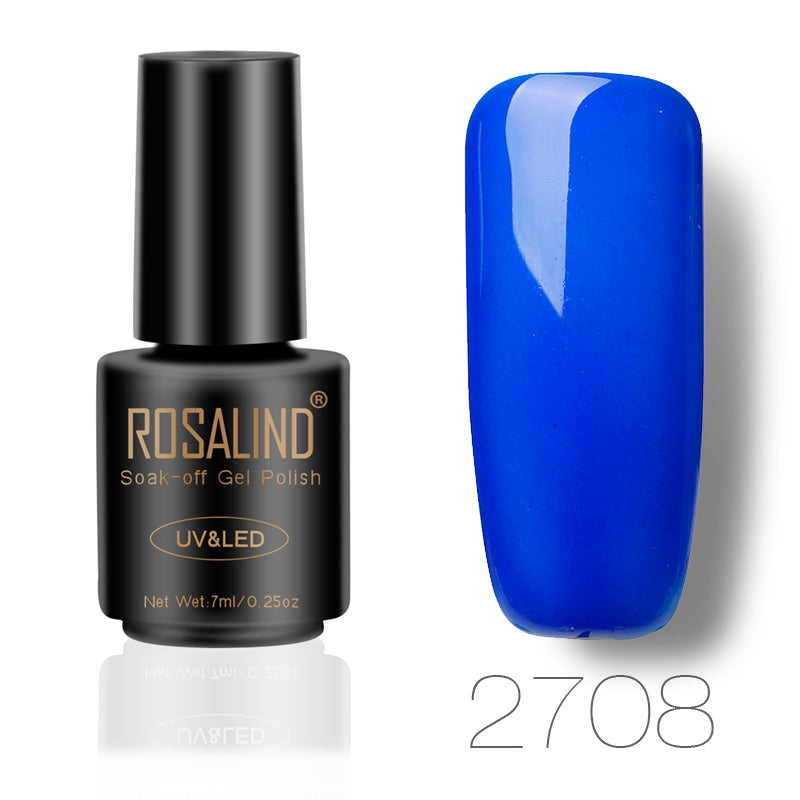 ROSALIND 7ML UV GEL NAIL COLORS - Soak Off