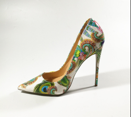 """Wild Thoughts"" High Heel Shoe"