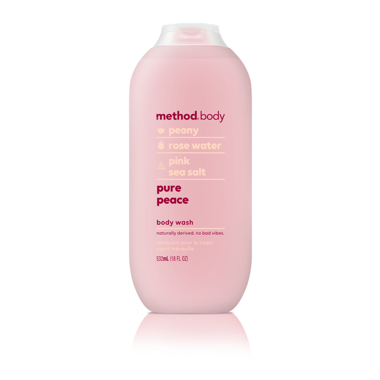 Method Body Wash, Pure Peace, 18 Ounce