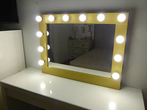 """The Fairest Collection"" SELF STANDING HOLLYWOOD MIRROR"