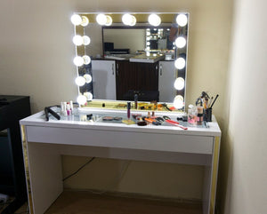 Vanity Mirror and Makeup desk Large Vanity Table(Free Shipping)