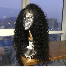 "NEW!!! ""PROBLEM"" FULLY CUSTOMIZED MAYLASIAN CURL LACE FRONTAL WIG"