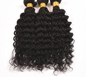 """Get Checked"" Brazilian Deep Wave Virgin Hair"