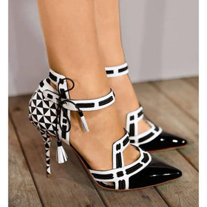 """POKER FACE"" High Fashion Pumps"