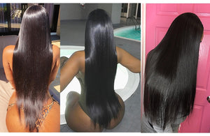 UP TO 40 INCHES!!!  Brazilian Straight Hair THICK ALL THE WAY TO ENDS!!