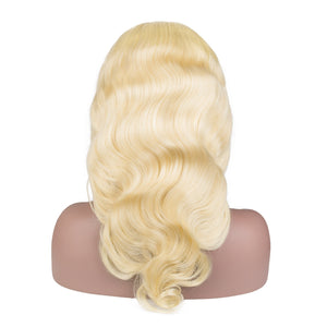 Blonde Lace Front Wig 613 Human Hair Wigs for black women Pre Plucked With Baby Hair Brazilian Body Wave Hair FirstWig 13x4