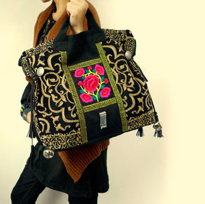 """Still a Rose"" Handbag/Tote"