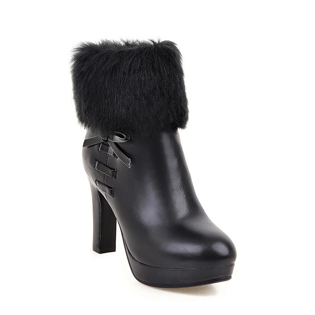 Autumn/Winter High Heel Bootie