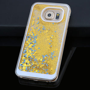 Dynamic Liquid Glitter Quicksand Star Case
