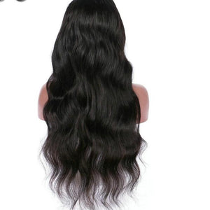 Peruvian Lace Front Wig - PRE-PLUCKED HAIRLINE & BLEACHED KNOTS w/ baby hair