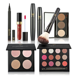 EPIC Makeup Kit included Contour Kit, Highlighter, Eyeliner, Eyeshadow & MORE!