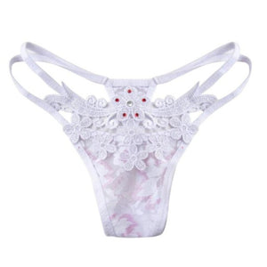 Embroidery Pearl G-String