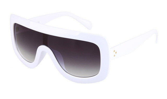 """No Rules"" Oversized Goggle Sunglasses"