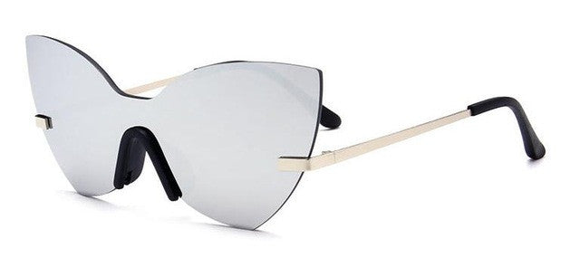"""Ready"" Retro Cat Eye Sunglasses"