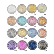 Creamy Eyeshadow Pigment 16 Alpha Shades