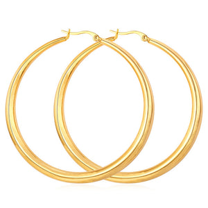 """The Culture"" Large Hoop Earrings"