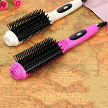 2-In-1 Multifunctional Electric Hair  Straightening Brush & Curling Tool