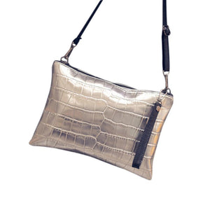 """Metallicia"" CHROME Handbag"