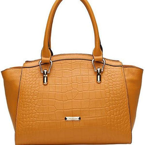"""Respect"" Genuine Leather Handbag"