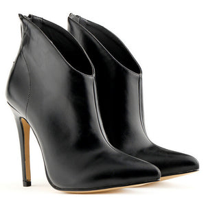 """P.S Vinci"" Leather Winter/Fall Boots"