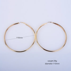 Thick Large Hoops