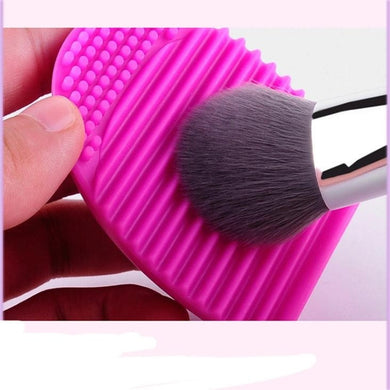 Silicone Cosmetic Makeup Brush Cleaning Foundation Makeup Cleaning Tools Colorful