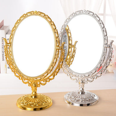 European Vintage Style Makeup Mirror
