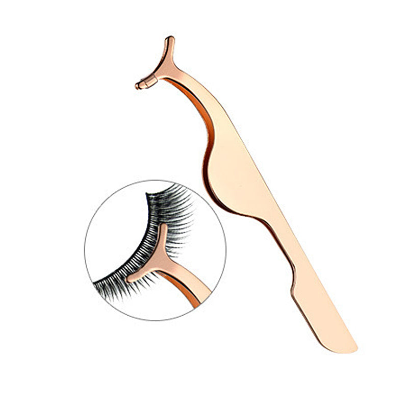 1PCS Rose Golden False Eyelash Applicator