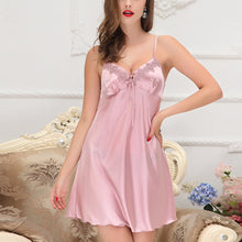 Nightie & Robe Sexy Silk Set