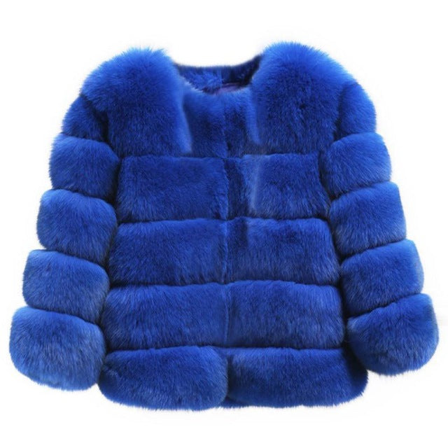 BIG FULL HIGH GRADE FAUX FUR (MANY COLORS TO CHOOSE FROM)