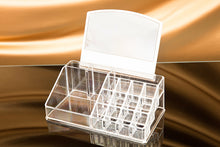 \4 Drawer Big Clear Lipstick Storage Box Acrylic Make Up Cosmetic Makeup Organizer With Mirror