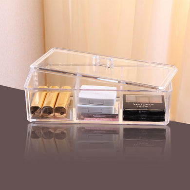 3-Cell Acrylic Storage Box