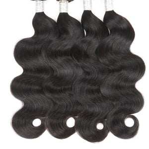 DEAL! DEAL! DEAL! Indian Body Wave Hair 3 BUNDLES w/ LACE CLOSURE INCLUDED!