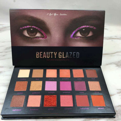 BEAUTY GLAZED 18 Color Eyeshadow Glitter And Matte Palette