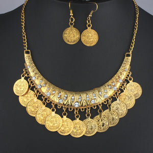 Vintage Coin Jewelry Set