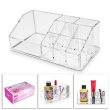 Acrylic Cosmetic Storage Holder 9 Cells