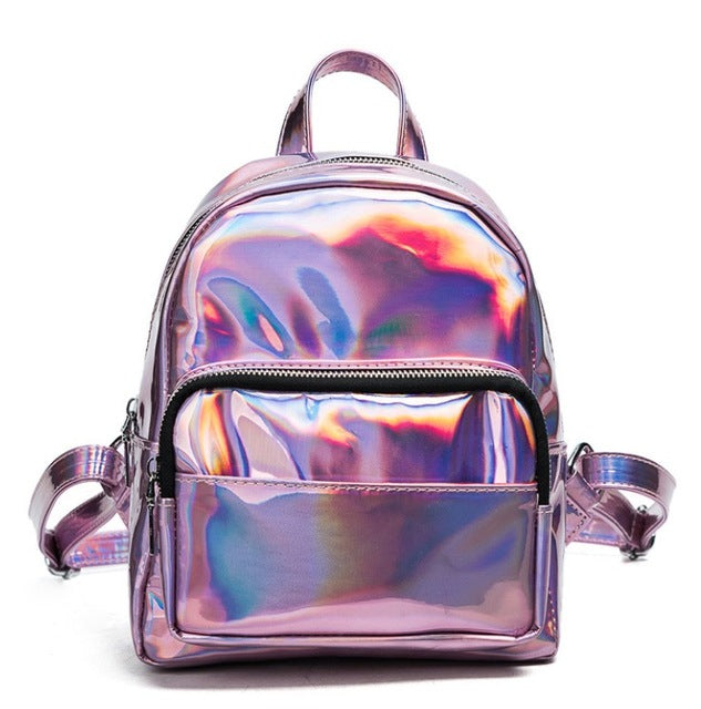 "NEW! ""The Future is NOW!"" Hologram BackPack"