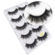 5 pairs of FLUFFY HALF MINK LASHES