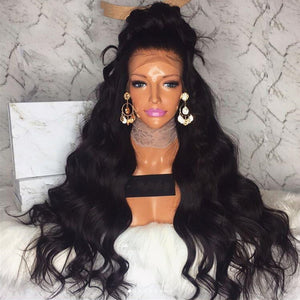 """Beverly"" Glueless Lace Front Heat Resistant Synthetic Wig"